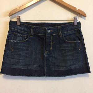 ❤️ 3/$20 Topshop Denim Mini Skirt